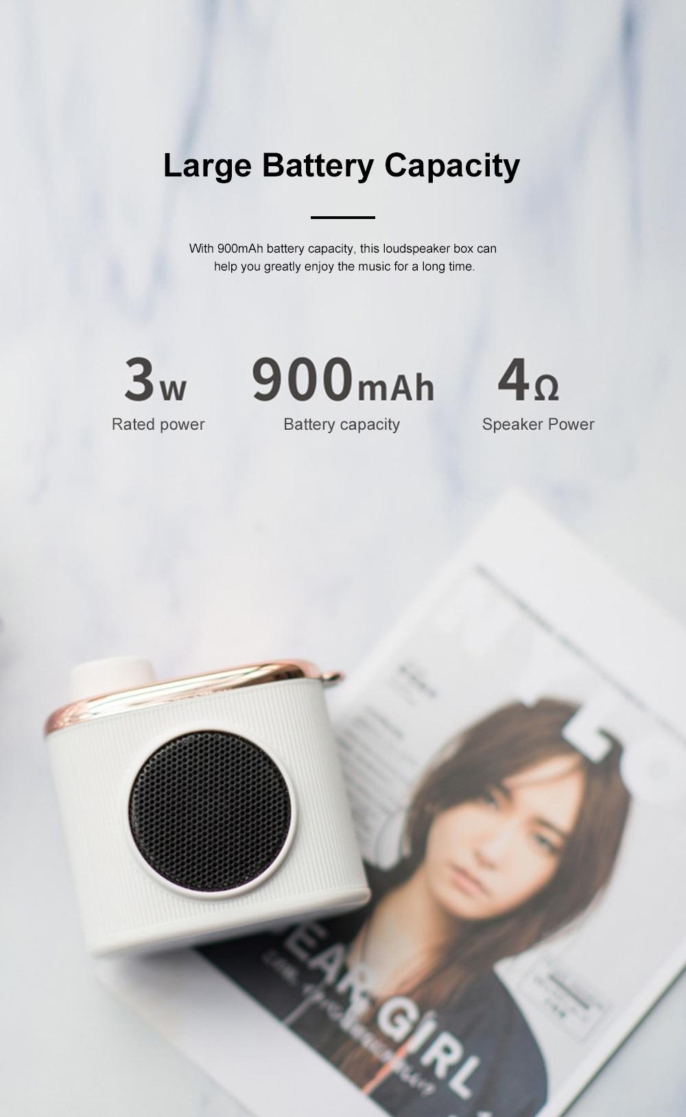 Portable Creative Vintage Camera Model Mini Bluetooth Sound Box Easy Operation USB Memory Loudspeaker Box 1