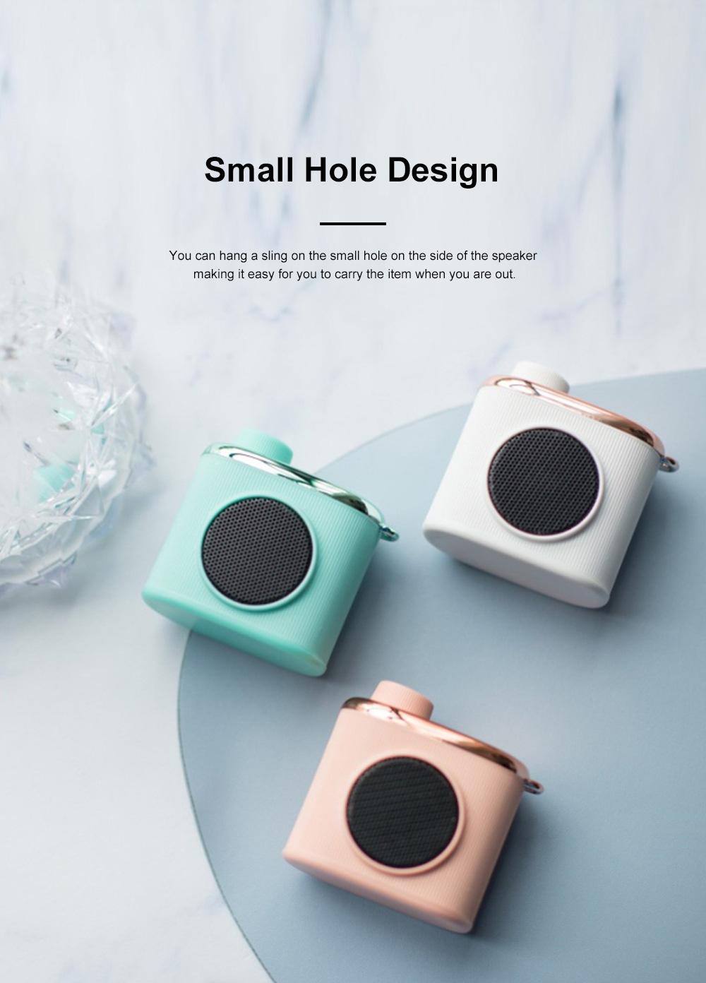Portable Creative Vintage Camera Model Mini Bluetooth Sound Box Easy Operation USB Memory Loudspeaker Box 5