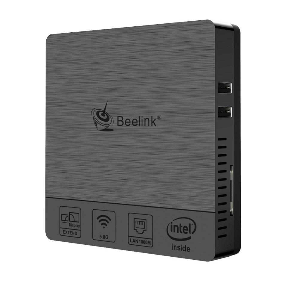 Beelink BT3 PRO II 4G/64G Mini Computer Mini PC Win10 BT 4.0 1000Mbps LAN 2.4/5.8G WIFI 1