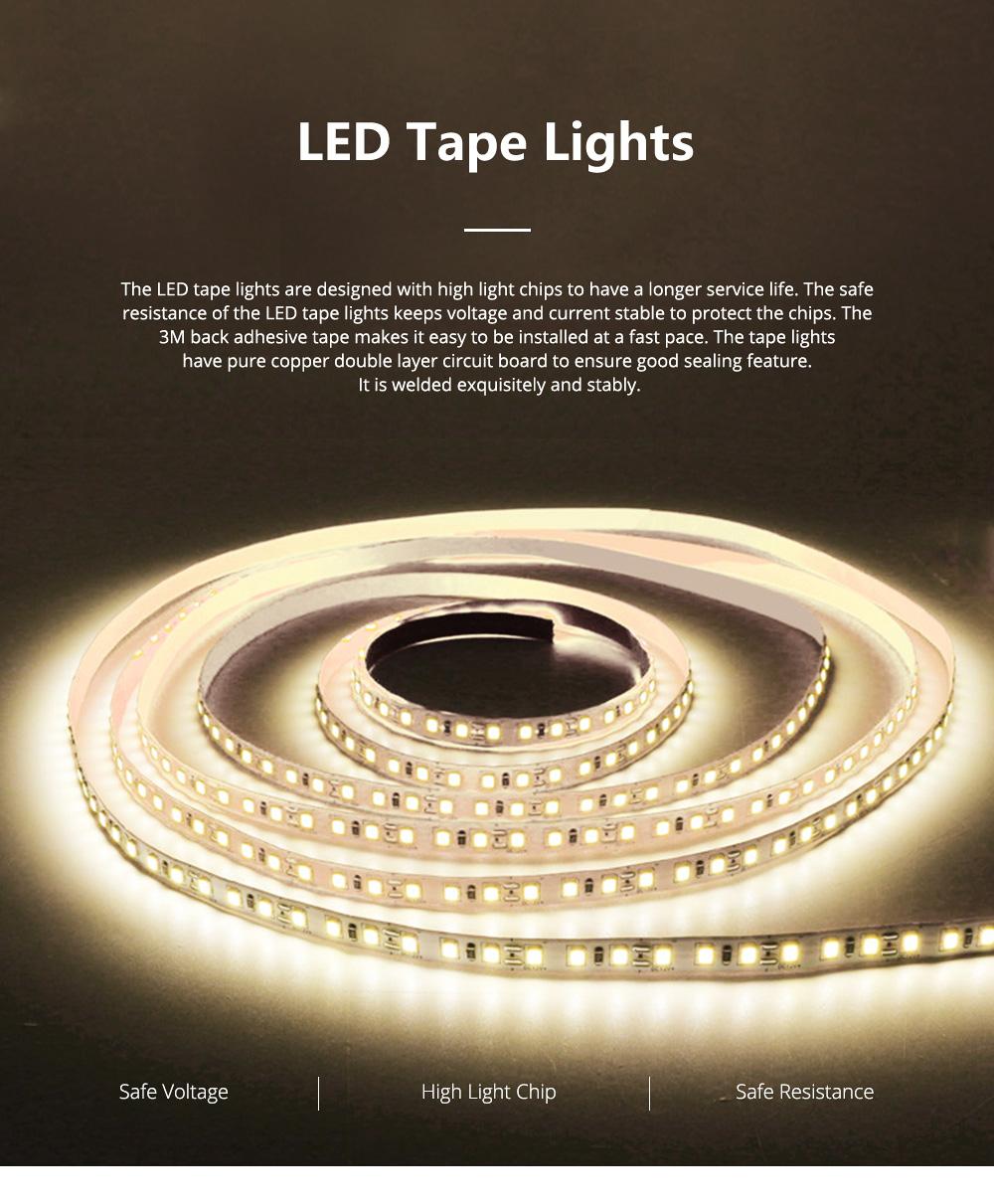 Hight Light LED Tape Lights Waterproof and Anti-dust Strip Lights for Wedding Decoration Handset Cabinet Bare Board LED Light Bar 0