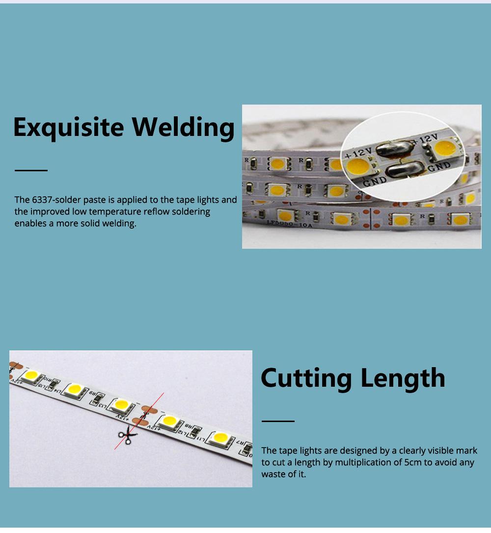Hight Light LED Tape Lights Waterproof and Anti-dust Strip Lights for Wedding Decoration Handset Cabinet Bare Board LED Light Bar 4