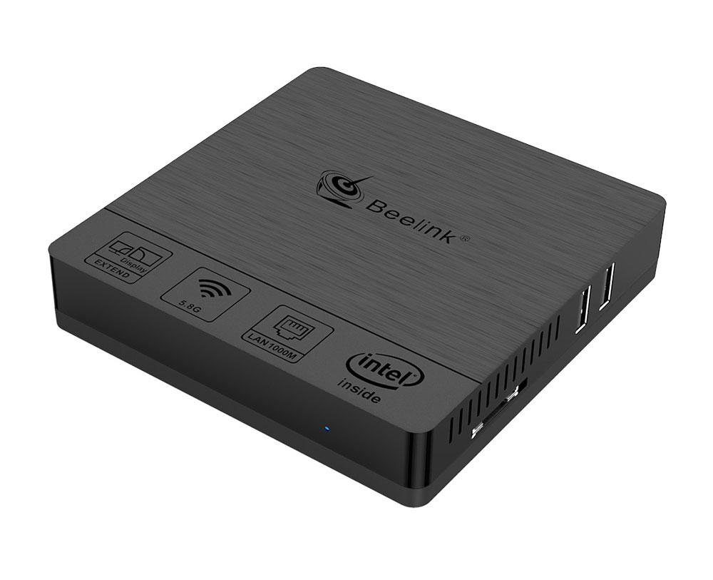 Beelink BT3 PRO II 4G/64G Mini Computer Mini PC Win10 BT 4.0 1000Mbps LAN 2.4/5.8G WIFI 5