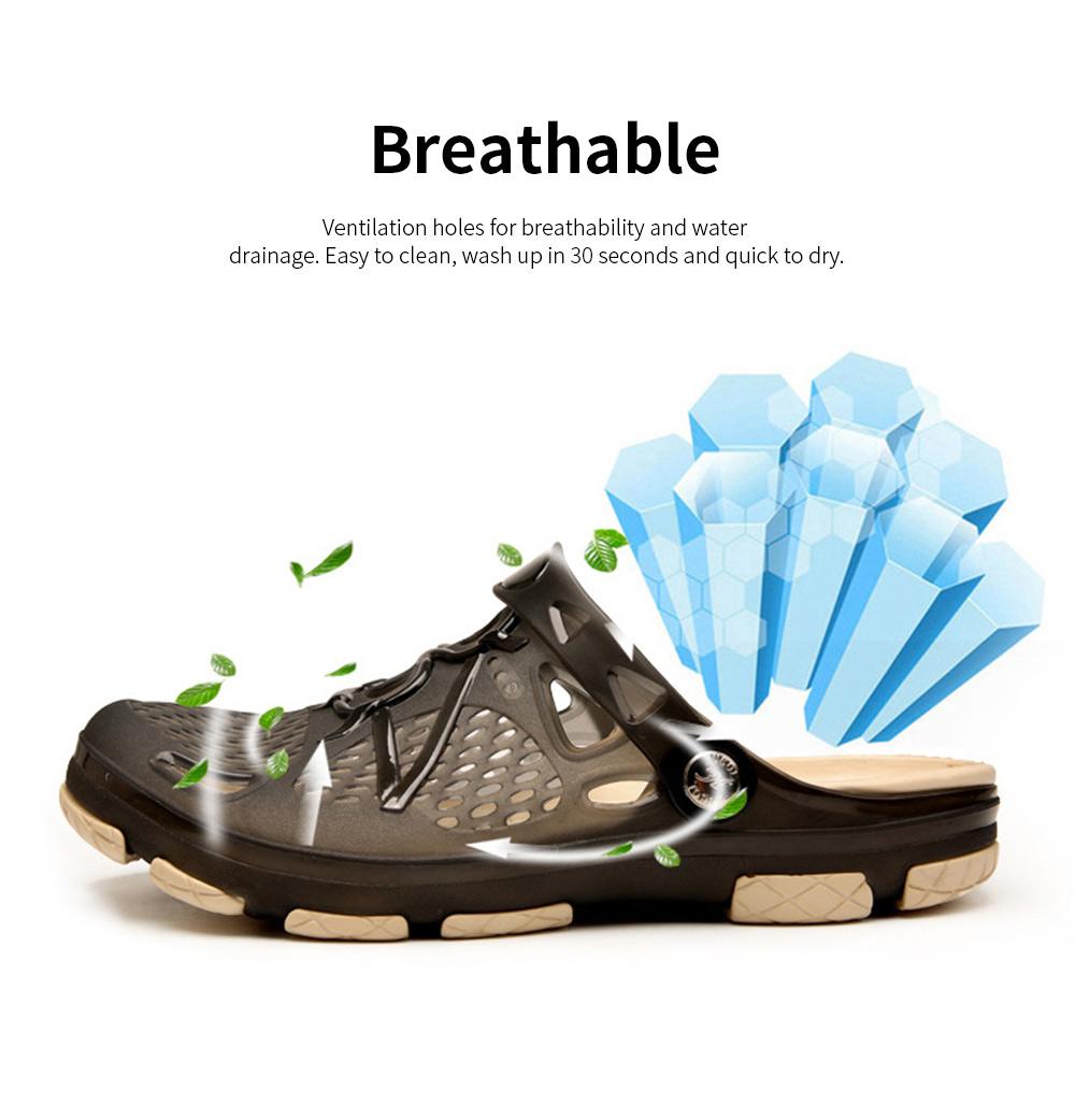 Clog Shoe Comfort Anti-slip Casual Water Shoe Beach Footwear Summer Slippers Sandal for Men Women 1