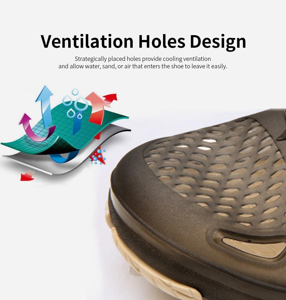 Clog Shoe Comfort Anti-slip Casual Water Shoe Beach Footwear Summer Slippers Sandal for Men Women 2
