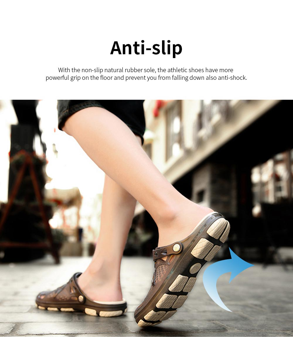Clog Shoe Comfort Anti-slip Casual Water Shoe Beach Footwear Summer Slippers Sandal for Men Women 4