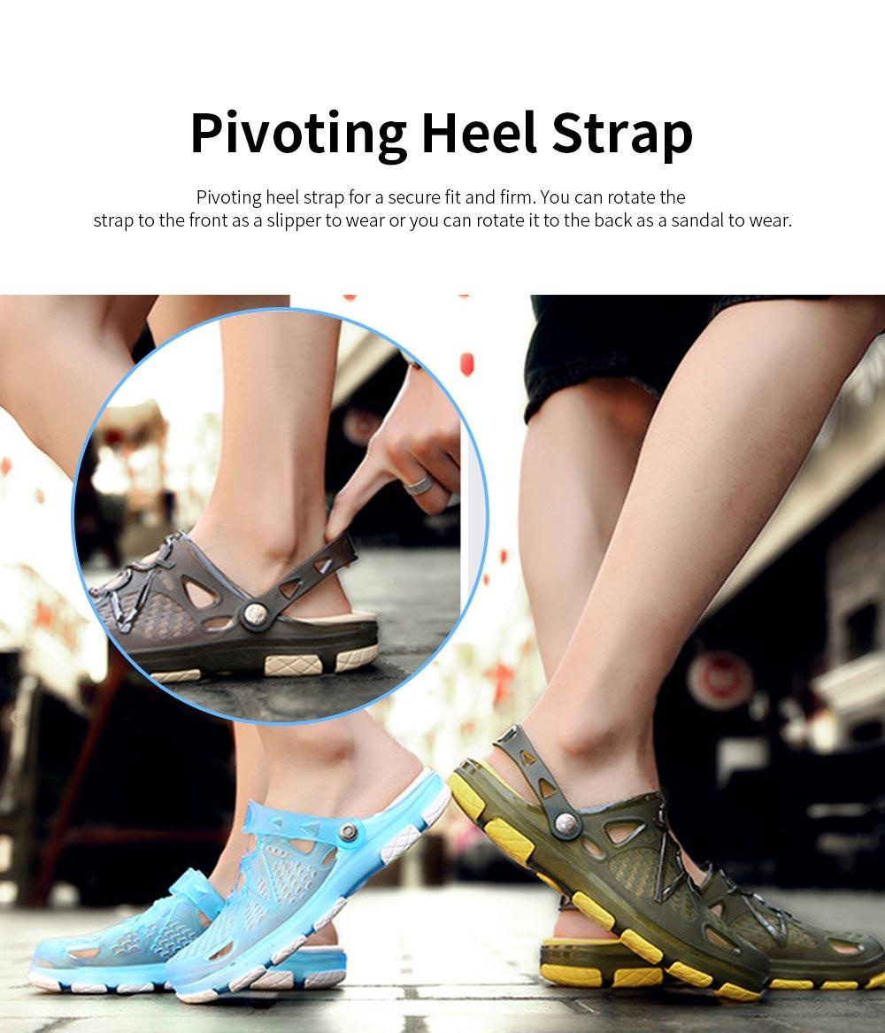 Clog Shoe Comfort Anti-slip Casual Water Shoe Beach Footwear Summer Slippers Sandal for Men Women 3