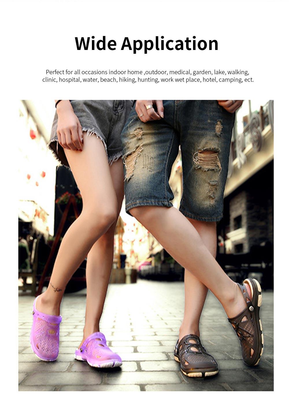 Clog Shoe Comfort Anti-slip Casual Water Shoe Beach Footwear Summer Slippers Sandal for Men Women 5