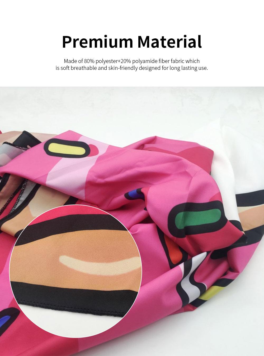 Round Beach Towel Microfiber Fabric Creative Pizza Shape Yoga Mat Tassels Circle Beach Blanket with 60 inch Diameter 3