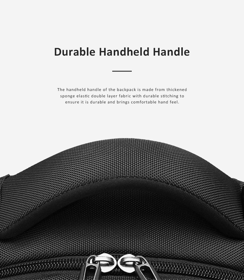 30L Large Capacity Men's Backpack for Outdoors Travelling Business Trip Waterproof Computer Bag Durable Shoulders Bag 9
