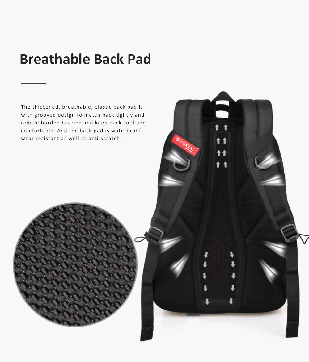 30L Large Capacity Men's Backpack for Outdoors Travelling Business Trip Waterproof Computer Bag Durable Shoulders Bag 2