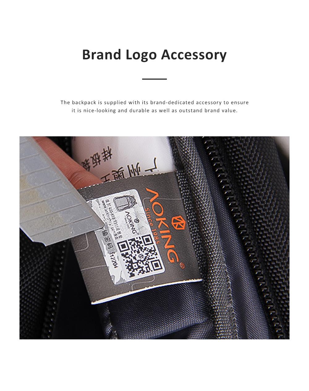 30L Large Capacity Men's Backpack for Outdoors Travelling Business Trip Waterproof Computer Bag Durable Shoulders Bag 5