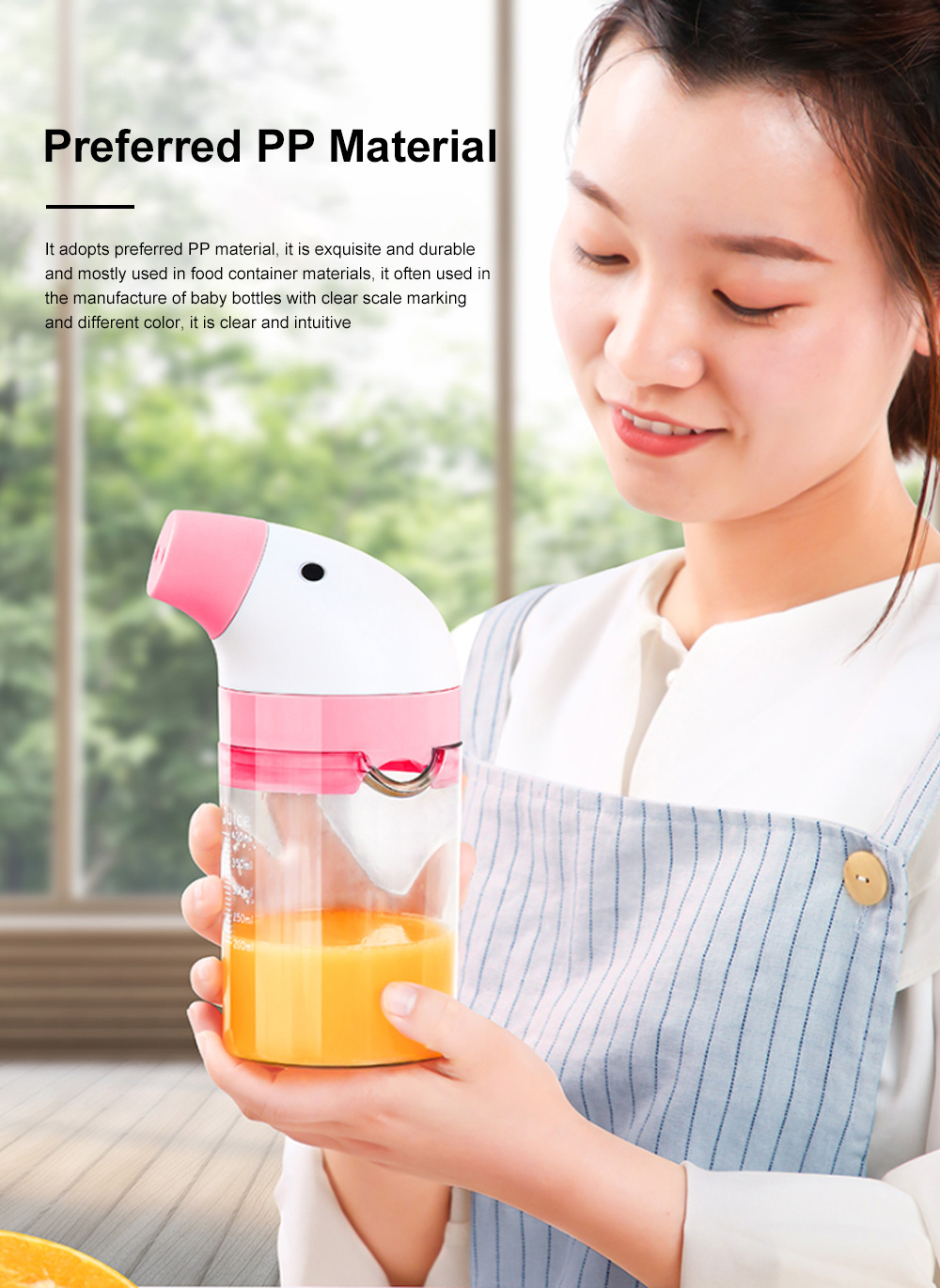 Simple Manual Juicer Cup Small Hand Shake Household Fruit Press Lemon Juice Artifact Hand Squeezed Juice Cup 3
