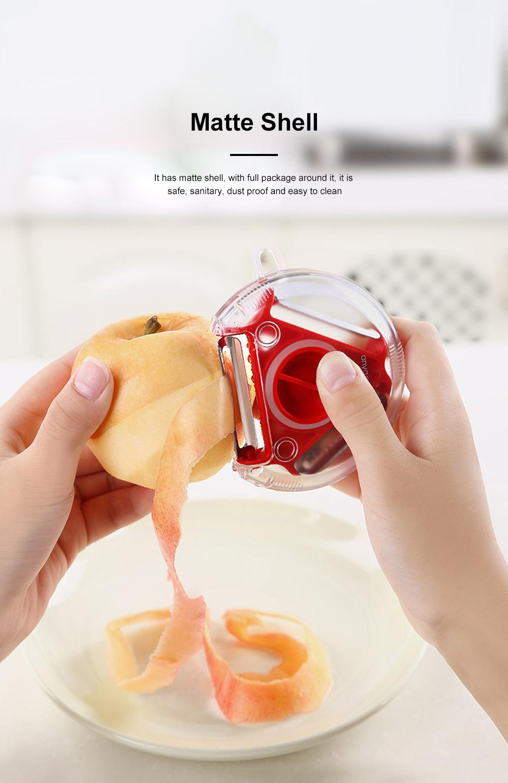 Fruit knife Paring knife Multi-function Scraper Knife Planer Peeler Home Planer Peeling For Potato Peeling Apple Artifact 2