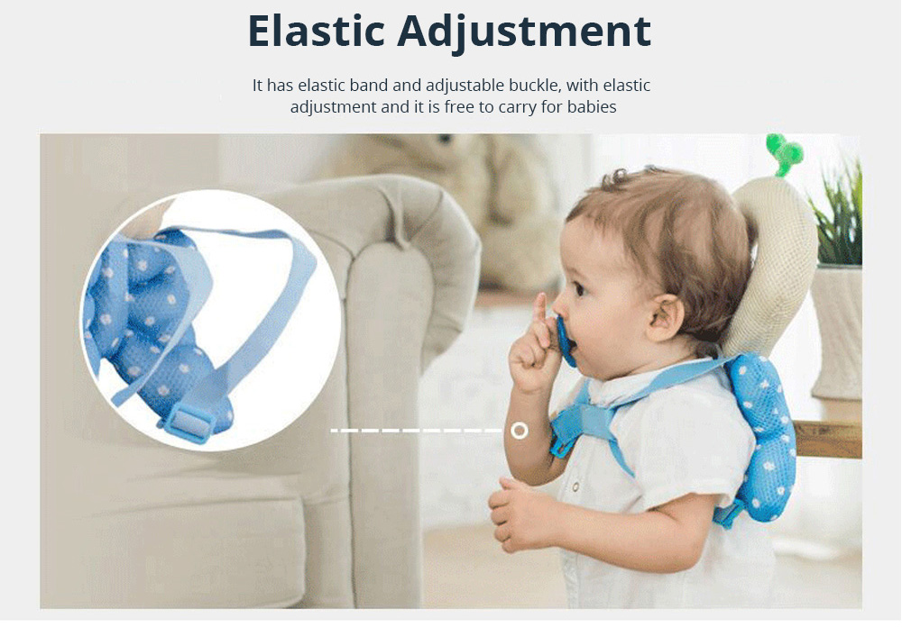 Baby Care Fall Safety Protection Pillow Head Protect Pad Toddler Learning Walking Helmet Anti-fall Back Pillows 4
