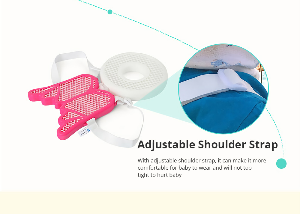 Baby Head Protection Pad Toddler Headrest Pillow Baby Neck Cute Wings Nursing Drop Resistance Cushion Bedding Backpack Mat 3