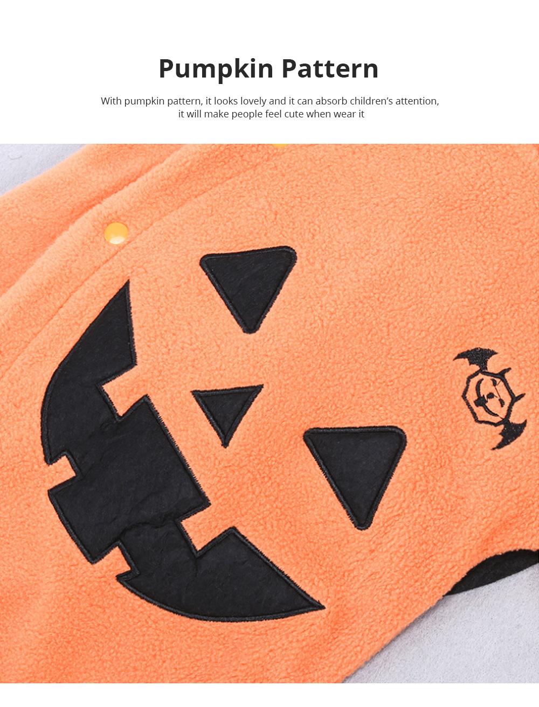 Universal Autumn Winter Halloween Pumpkin Baby Dress Hooded One-Piece Shirt Children's Clothing For Boys Girls 3