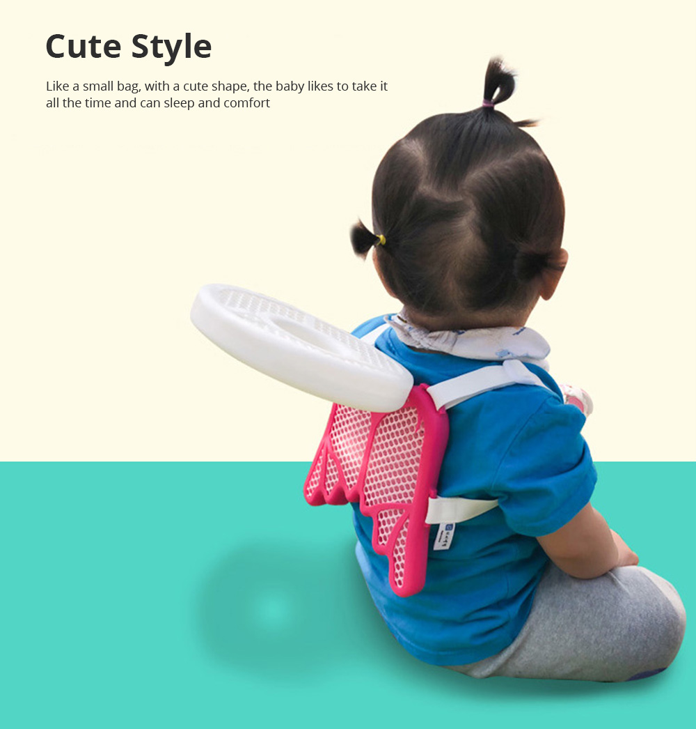 Baby Head Protection Pad Toddler Headrest Pillow Baby Neck Cute Wings Nursing Drop Resistance Cushion Bedding Backpack Mat 4