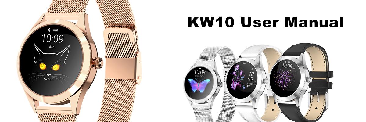 KW10  Women's Smartwatches user manual