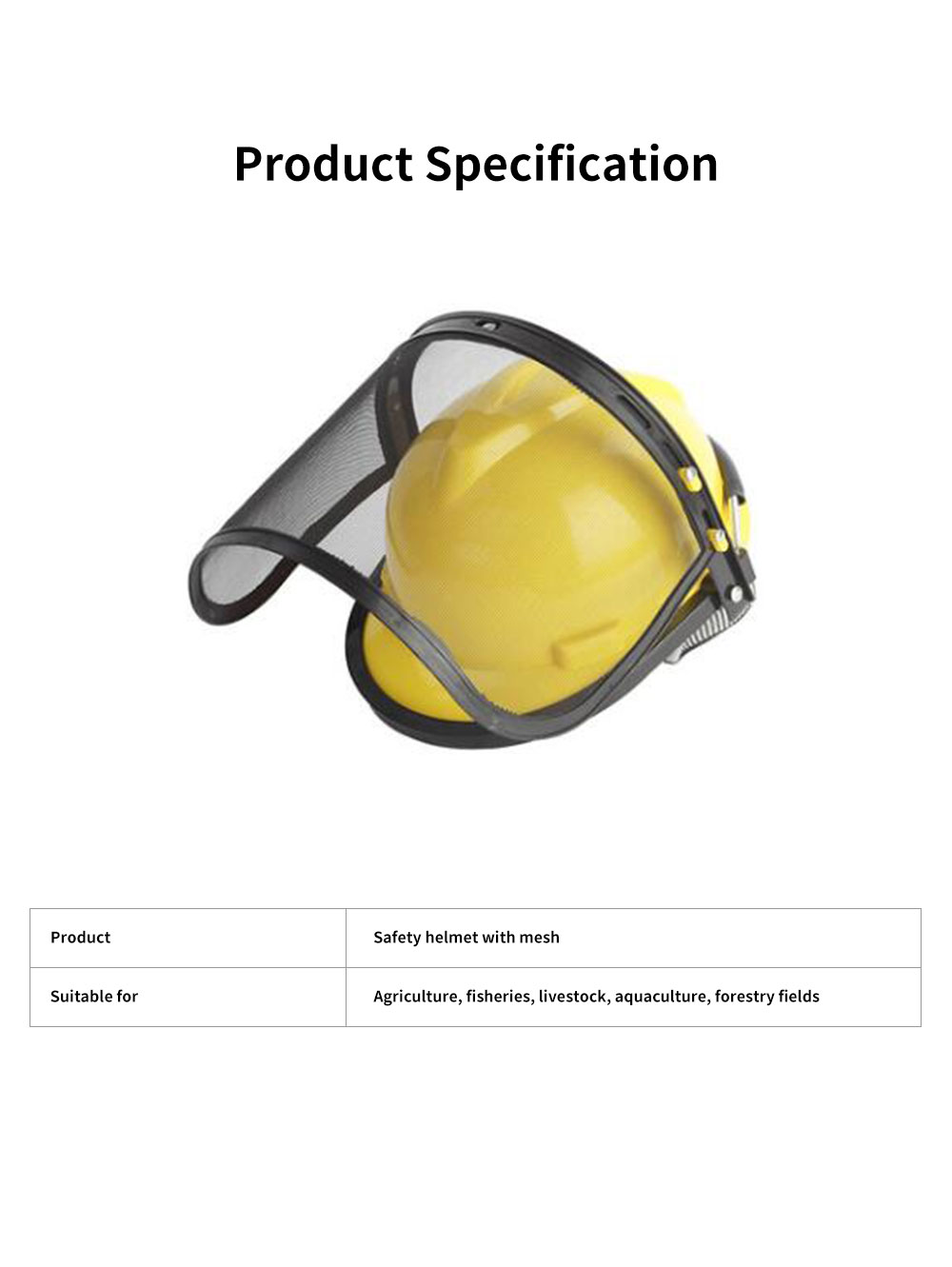 Gardening Safety Helmet Full Face Mask For Glass Cutter With Steel Mesh Visor Protective Earmuff Industrial Helmet Safety Face Shield 5