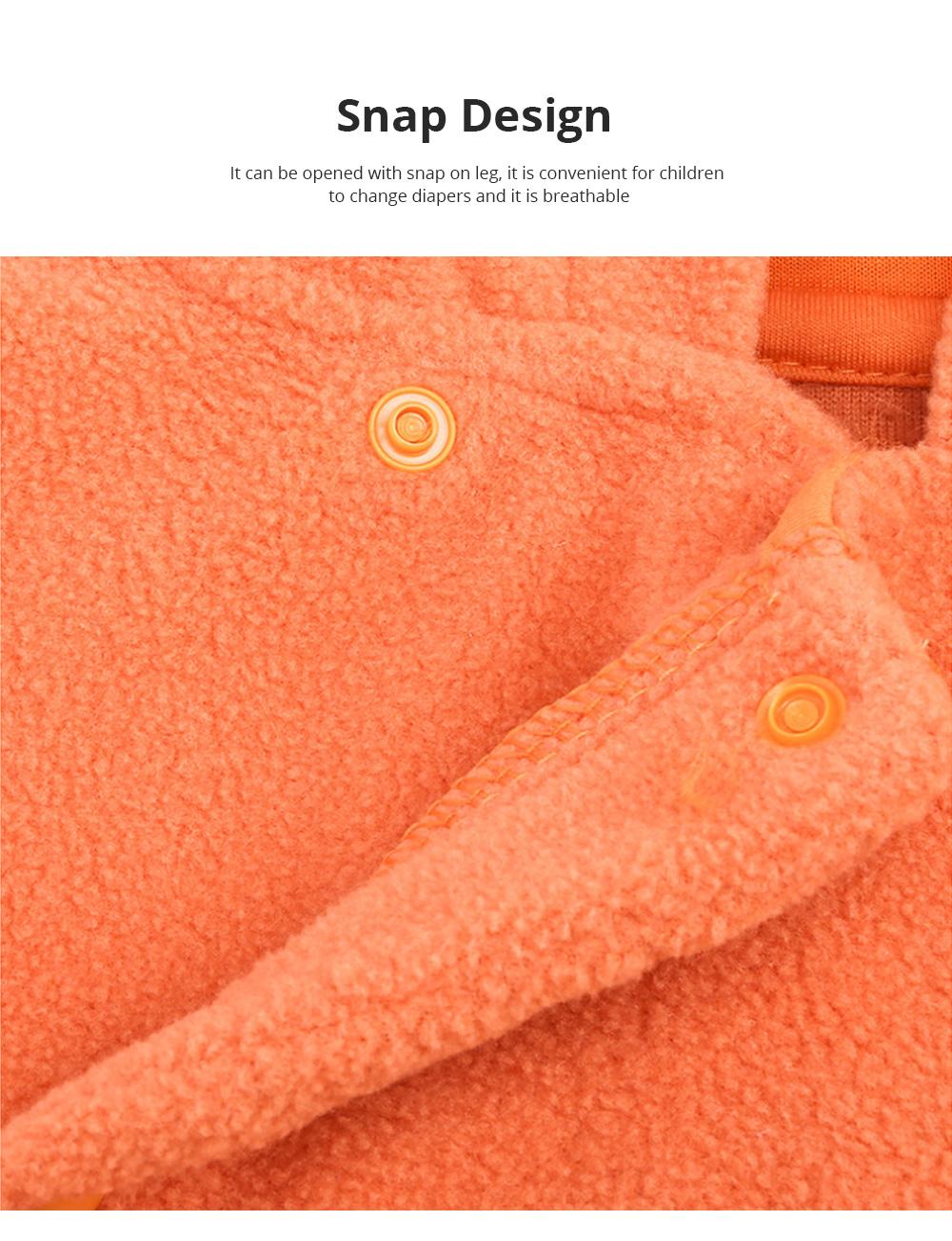 Universal Autumn Winter Halloween Pumpkin Baby Dress Hooded One-Piece Shirt Children's Clothing For Boys Girls 4