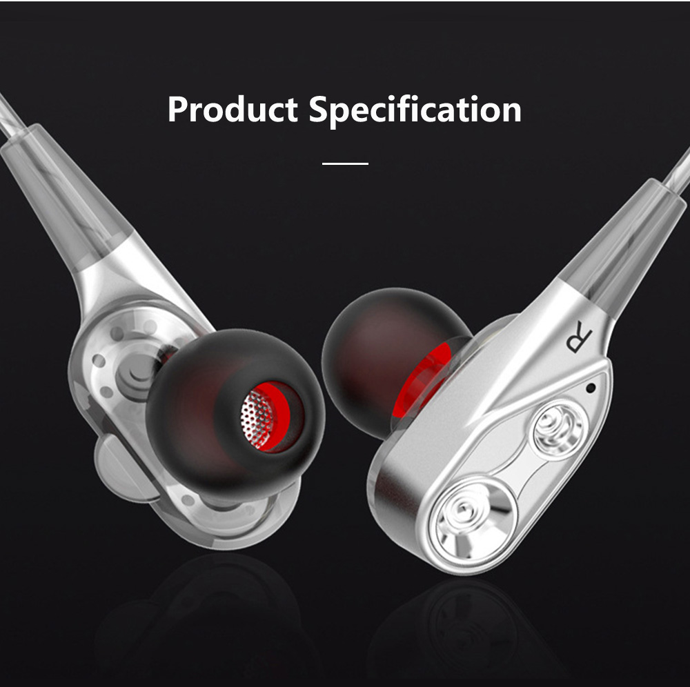 HIFI Heavy Bass Metal Sports Headsets Wired Mobile Phone In Ear Earphone Type C HD Voice Headphones For Cell Phone MP3 Player 13