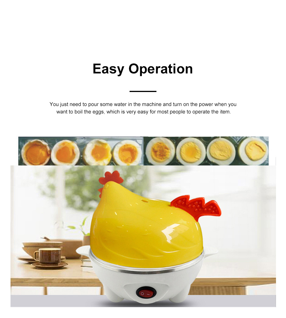 Cute Creative Carton Chicken Model Automatic Egg Boiler Multifunctional Egg Cooker Breakfast Assistant 1