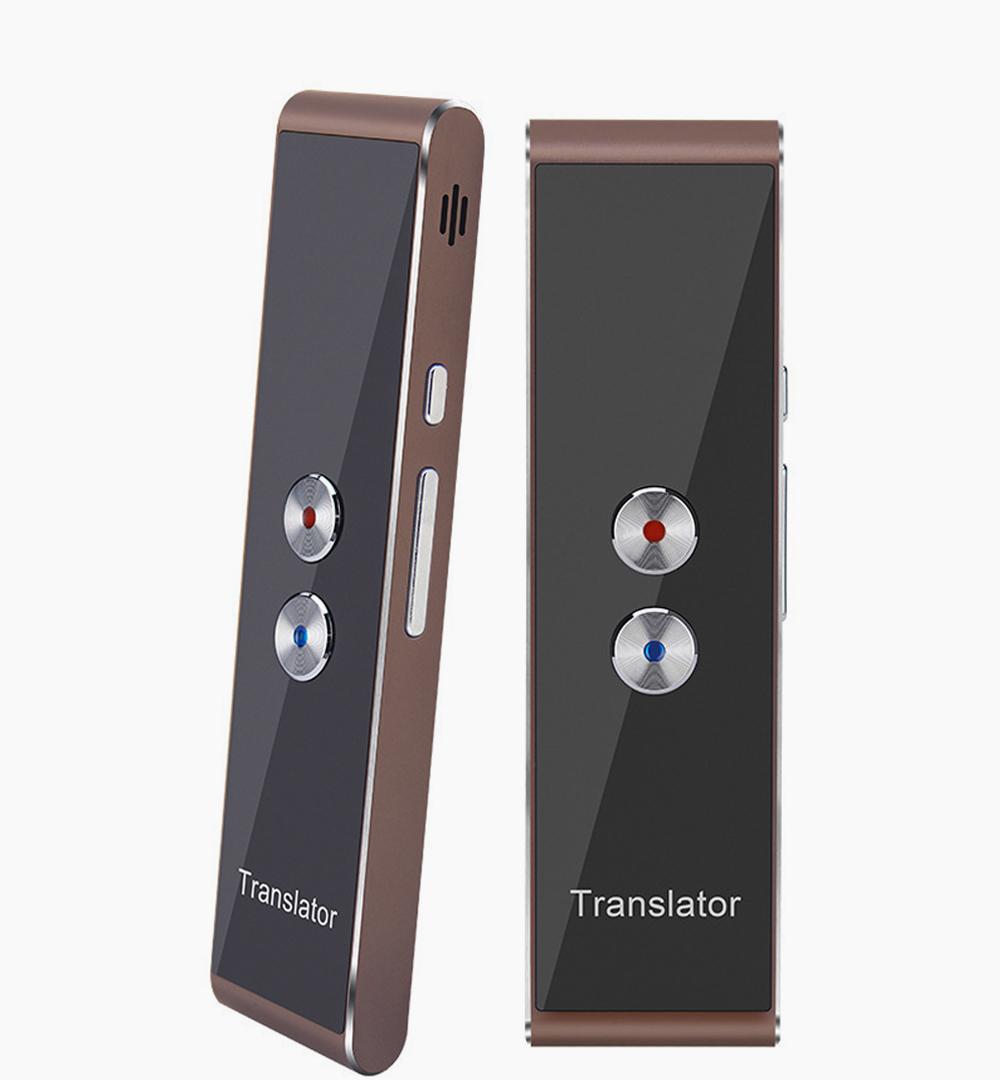 Wireless Pocket Intelligent Multilingual Translator Device for Business Meeting Global Travelling Mini Real-time Translator Interpreter Inter-Translation Device 0