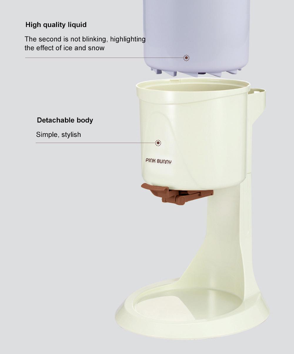 High Quality Mini Ice Cream Machines Homemade Fruit Cone Ice Cream Machine Automatic Ice Cream Maker 7