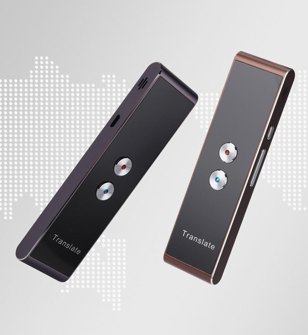 Wireless Pocket Intelligent Multilingual Translator Device for Business Meeting Global Travelling Mini Real-time Translator Interpreter Inter-Translation Device 2