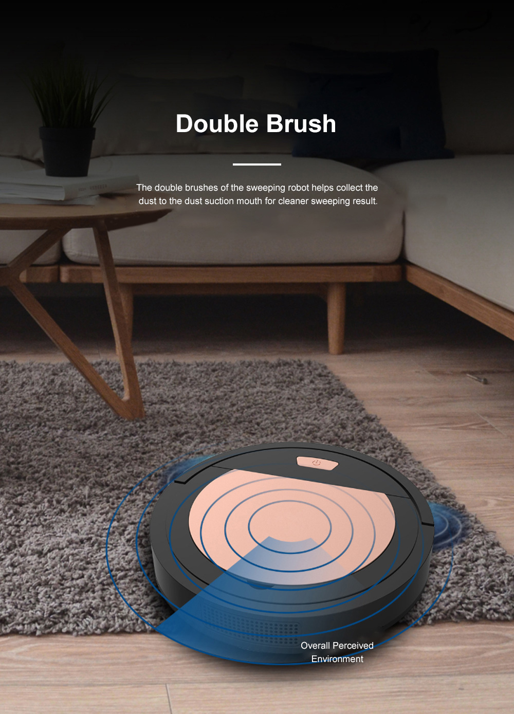 Creative Sweeping Robot for House Cleaning Rechargeable Household Auto Robot Cleaner Nice-looking Dust Collector 11
