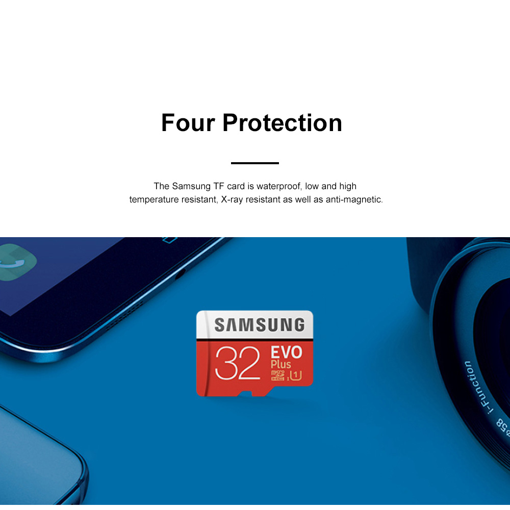 Samsung Class 10 Waterproof TF Card Antimagnetic Reliable Micro SD Card Compatible for Smart Phones Laptops Auto Mobile Data Recorder 1