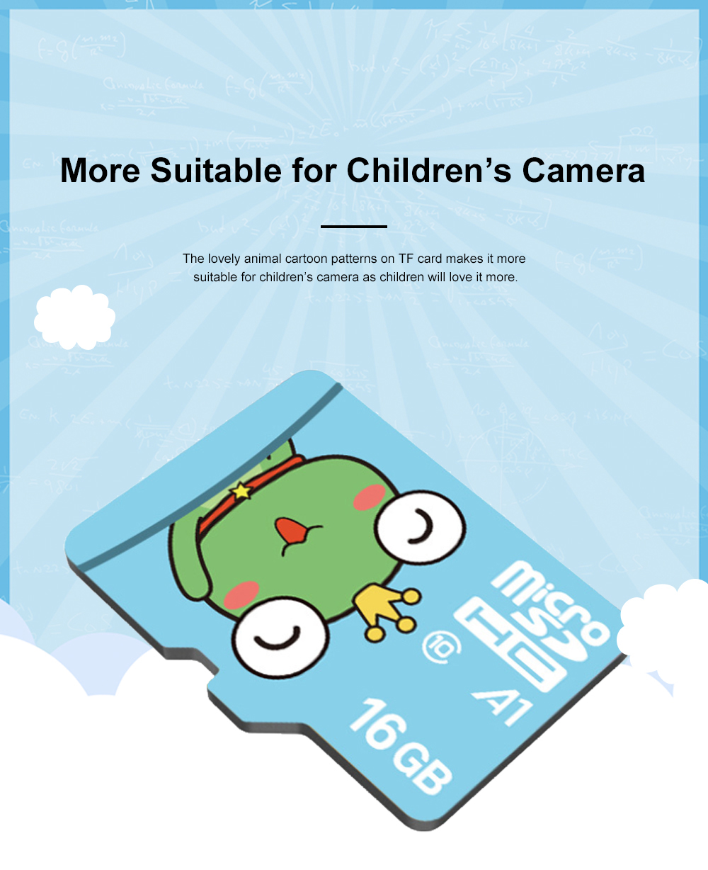 Lovely Micro SD Card for Children's Camera Use Hight Transmission Speed TF Card Large Capacity Memory Card Class 10 1
