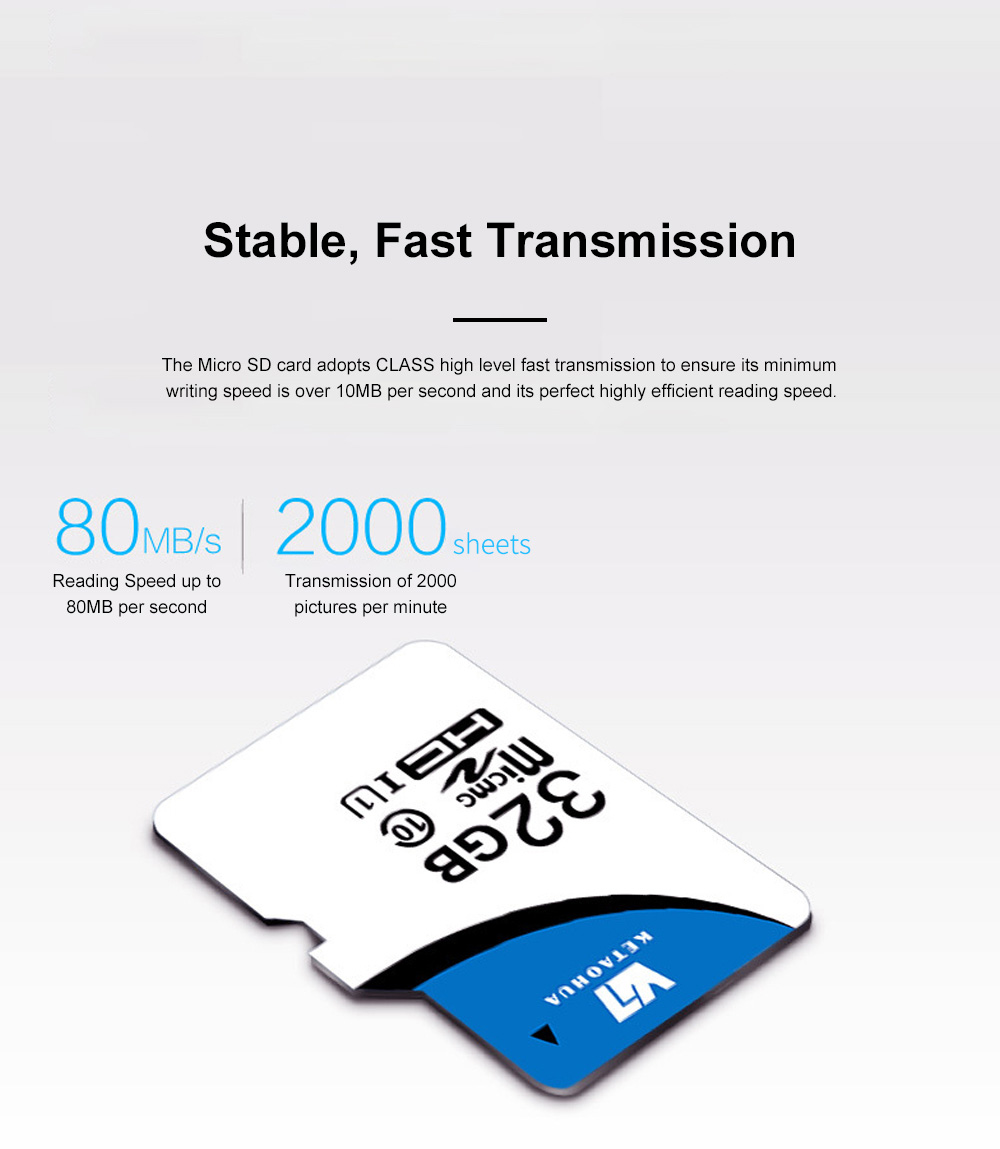 Micro SD Card for Automobile Data Recorder Surveillance Cameras Waterproof and Antimagnetic Hight-capacity TF Memory Card 1