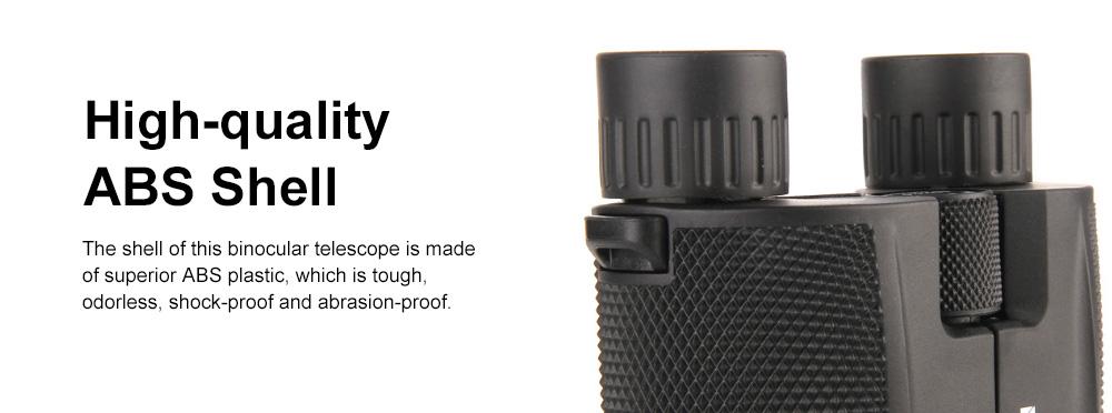 Portable Handy Waterproof High-powered High Definition Telescope Binoculars Pancratic Lens Adjustable Focus 4