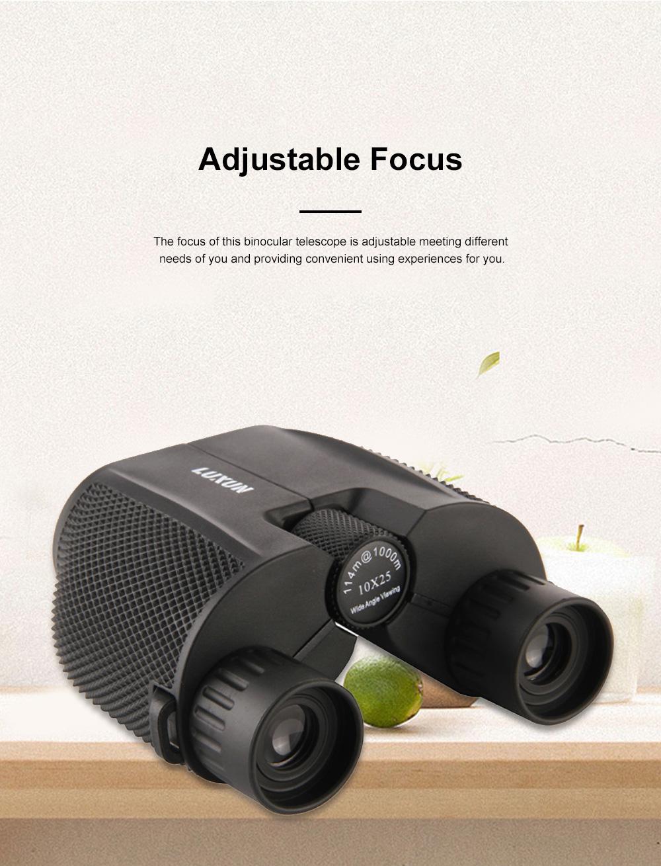 Portable Handy Waterproof High-powered High Definition Telescope Binoculars Pancratic Lens Adjustable Focus 2