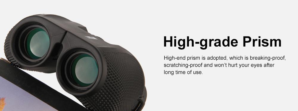 Portable Handy Waterproof High-powered High Definition Telescope Binoculars Pancratic Lens Adjustable Focus 5
