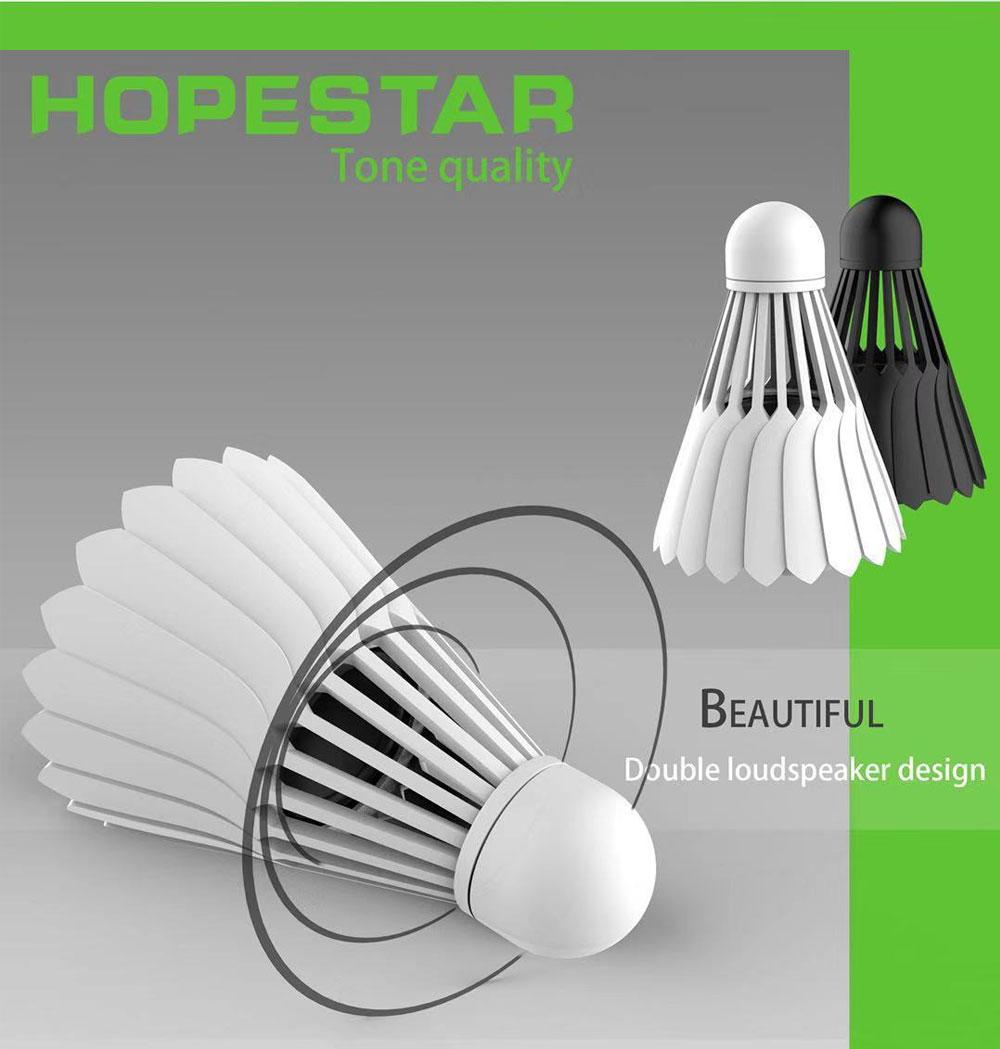 HOPESTAR Badminton Bluetooth Speaker T1 New Innovative Portable Cartoon Small Stereo Mini Cellphone Bass 1