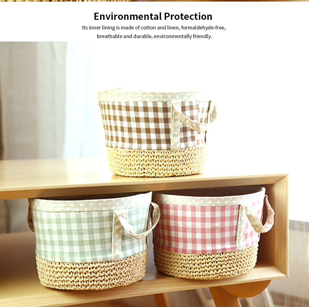 Home &Garden Storage Basket, Children's Toys Cosmetics Storage Basket Household Small Debris Storage Basket 1