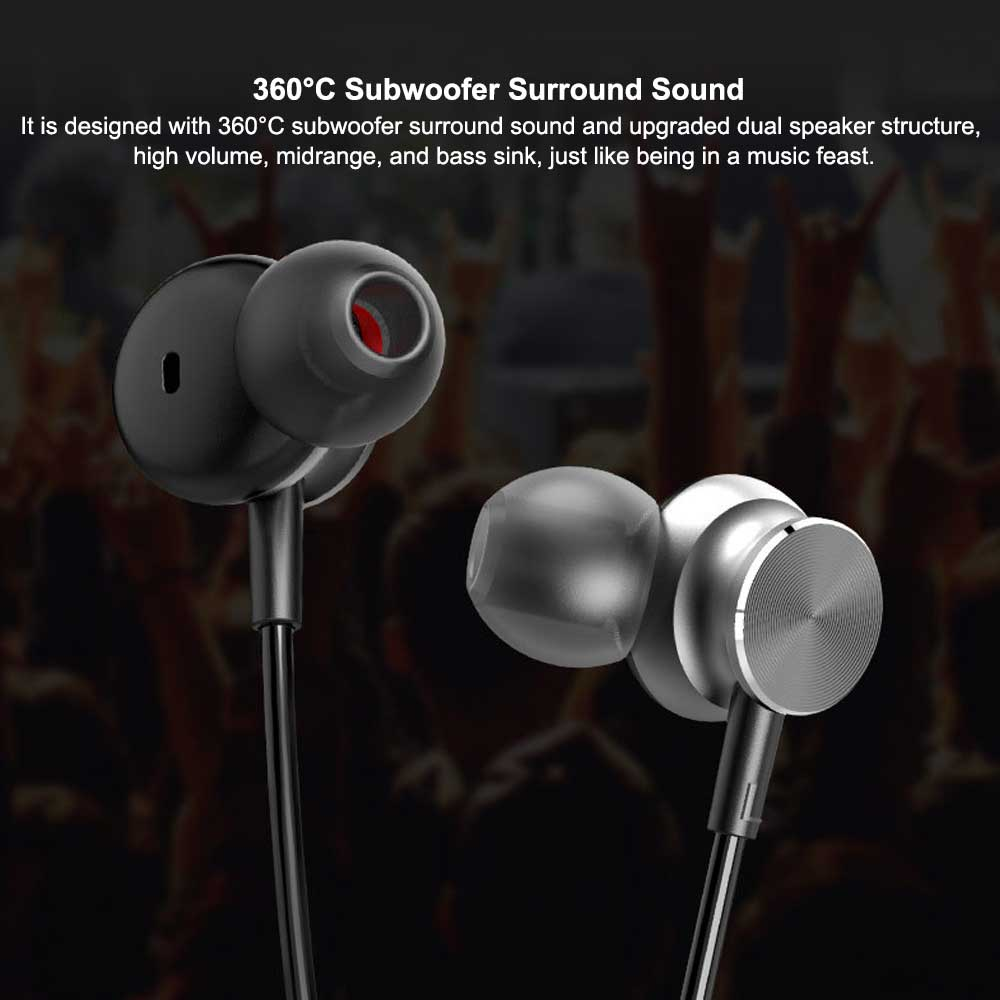 New Bluetooth Headset Neck-mounted Bluetooth Earphone, Sports Bluetooth Headset, Wireless Bluetooth Headset In-ear 3