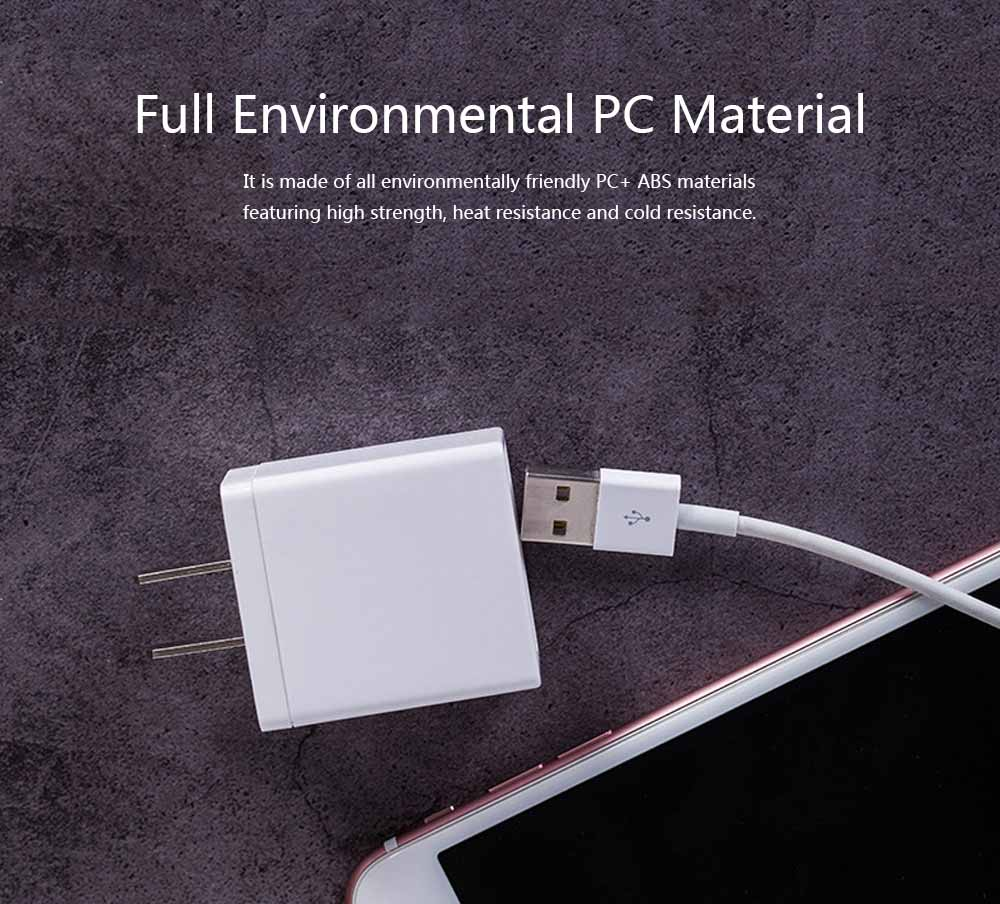 3C Certified 5V 2A Charging Head Single USB Power Adapter Mobile Phone Charger 2