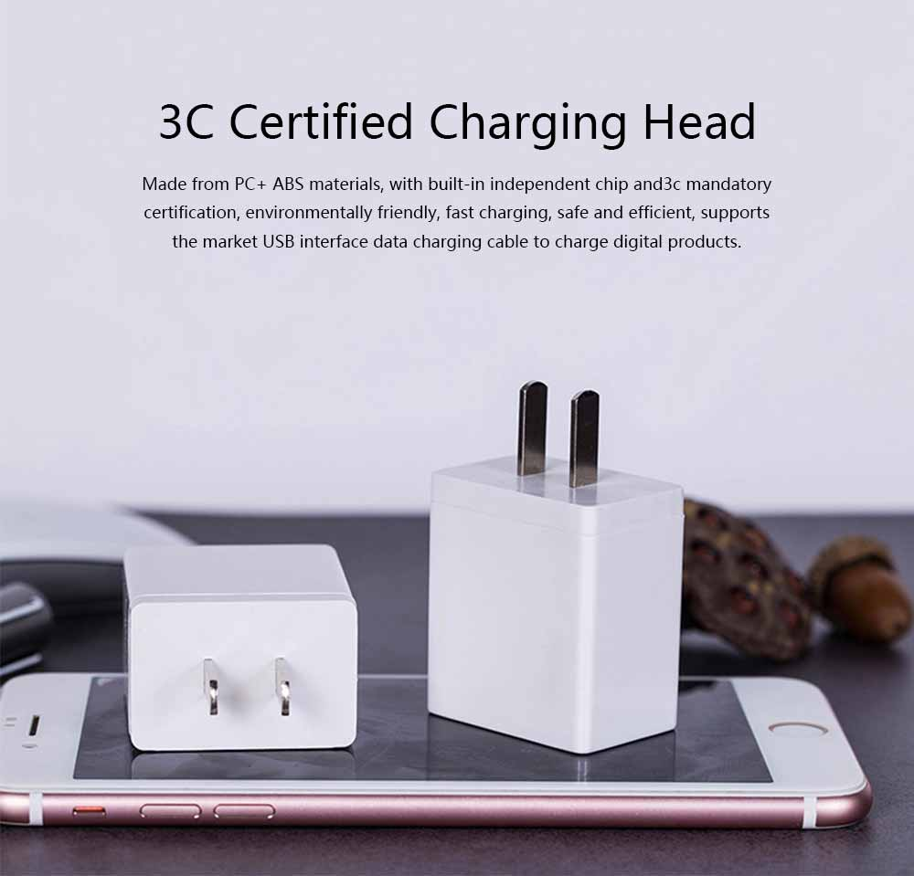 3C Certified 5V 2A Charging Head Single USB Power Adapter Mobile Phone Charger 0