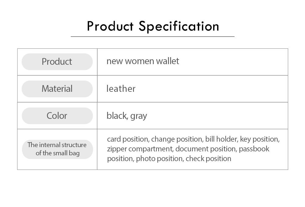 Long Double Cover Clutch, New Fashion Women wallet,European and American Pop Pun Style Rivet Handbag 7