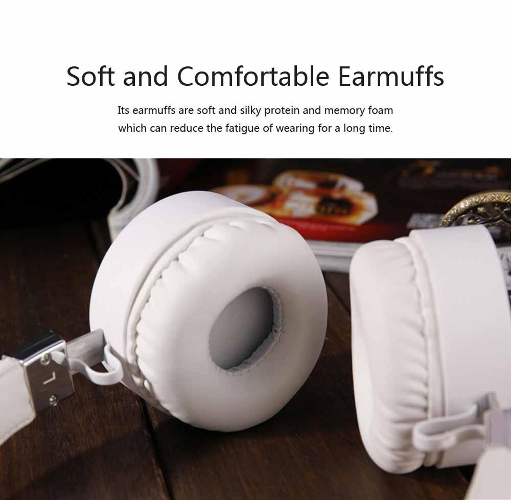Headset Subwoofer Wireless Bluetooth Headphones Smart Stereo Sports Phone Headset, Universal Mini Headset Gaming Bluetooth Earphone 1