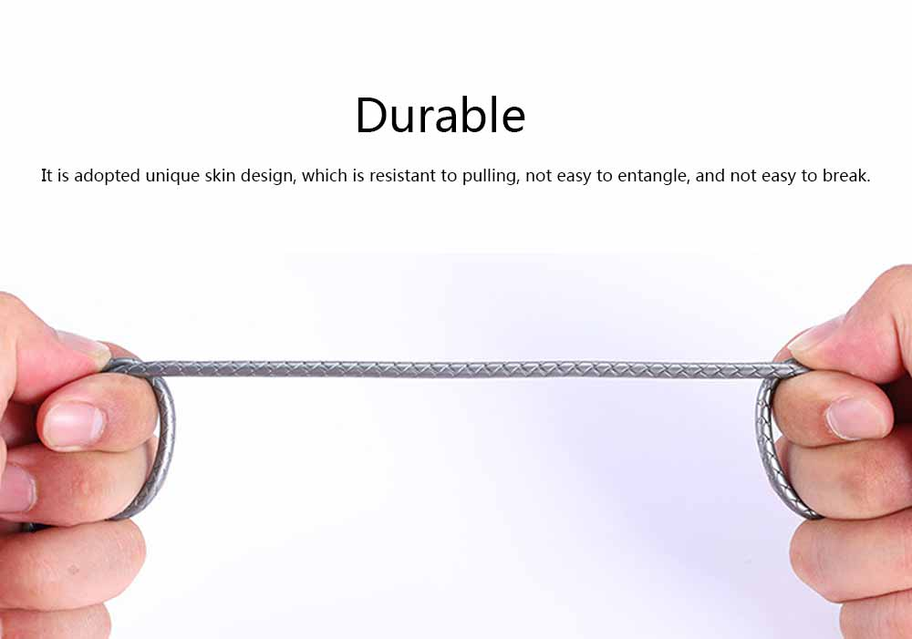 Mobile Phone Data Cable for Apple, Universal USB Cable Suitable for iPhone 7 Andrews Huawei Universal TPE Zinc Alloy Charging Cable 4