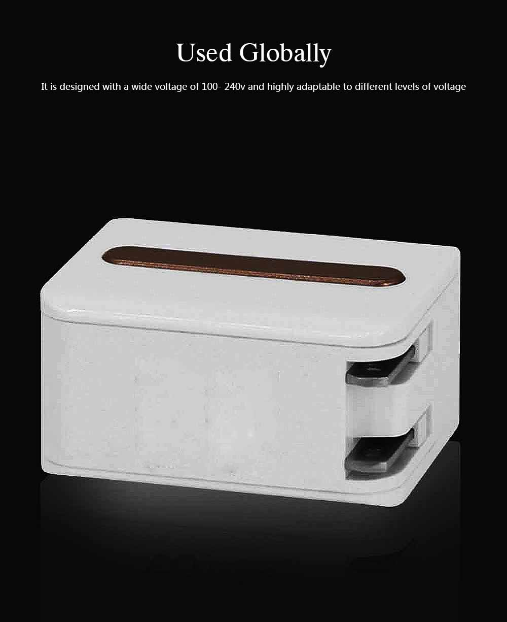 New Mobile Phone Charger, Foldable Multi-port USB Charging Plug Smart Phone Universal Phone Charger 2