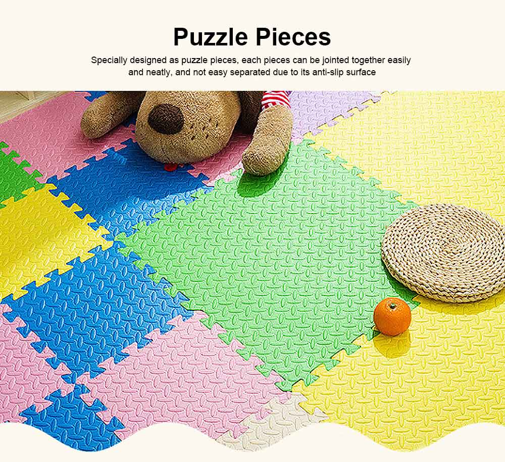 Leaf Grain Crawls Cushion for Bedroom, Living Room, Toddler Safety Guard Baby Playing Mat, Floor Protector Leaves Grain Baby Foam Pad 2