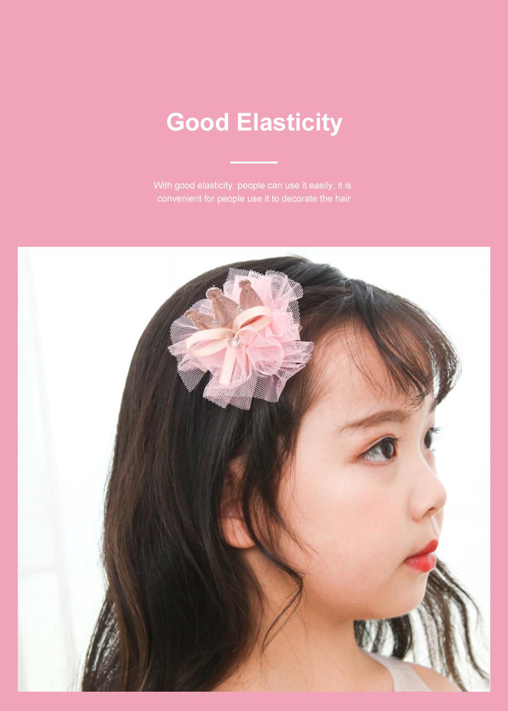 18 Pieces Set Children Korean Girls Cute Baby Hair Clip Girl Head Wear Princess Hair Card Baby Hair Accessories 4