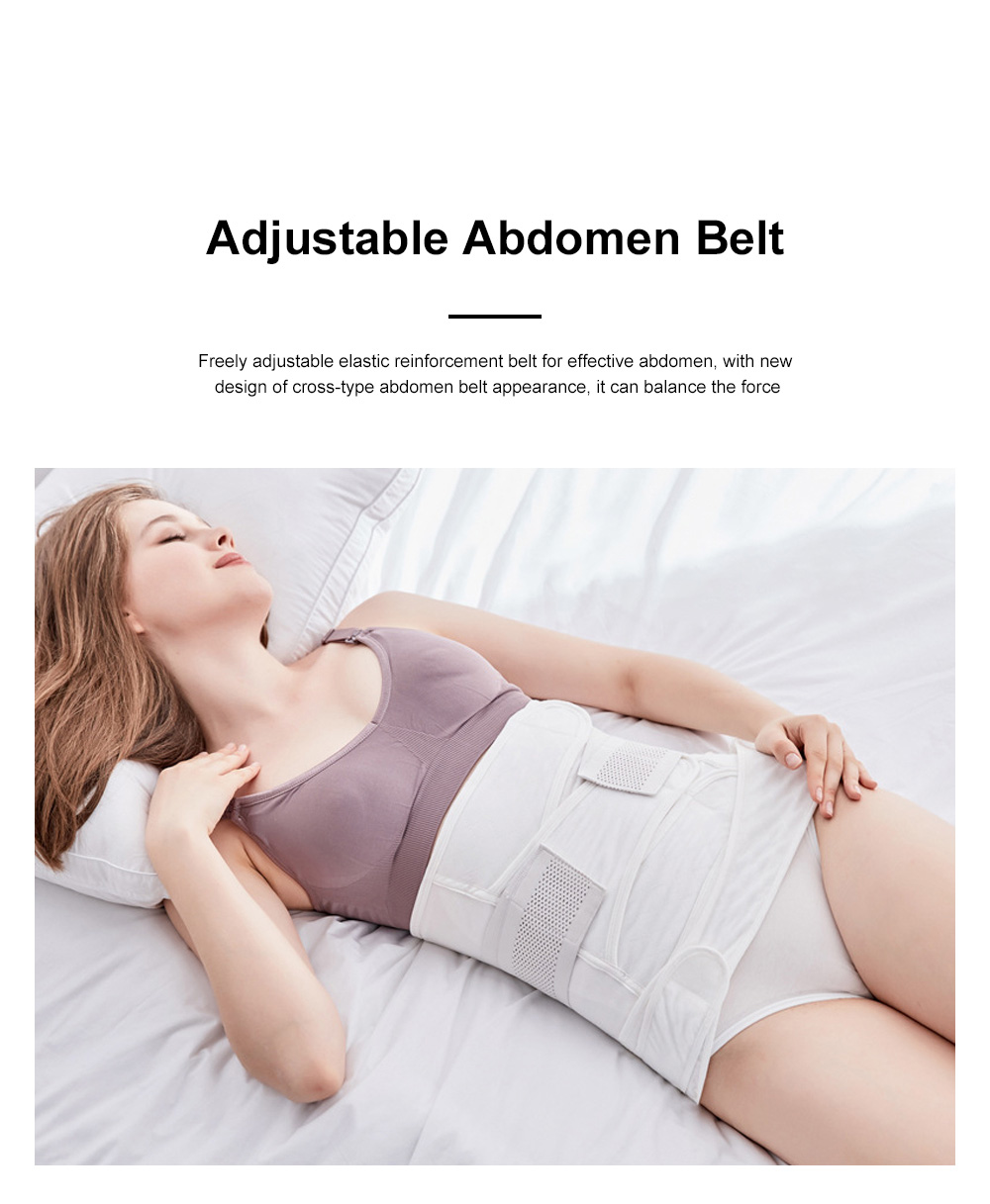 Breathable Postpartum Women Body Shaper Belt For Abdomen After Delivery Waist Trainer Super-strength Pregnant Recovery Control Weight Loss 2
