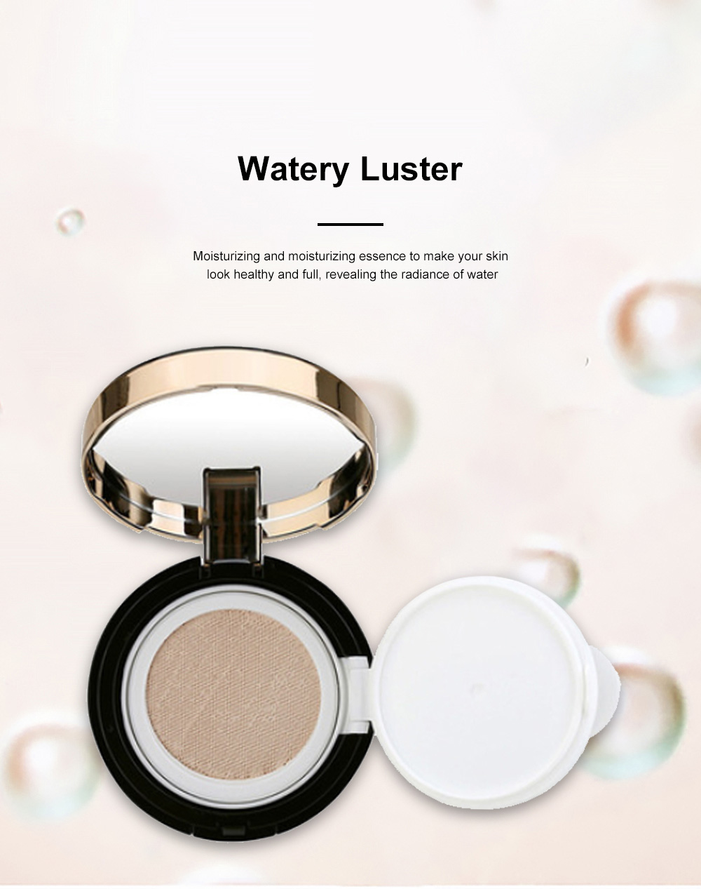 Skin Rejuvenating Air Cushion Daily Color Correcting CC Cream Send Replacement Waterproof Moisturizing Concealer Nude Makeup Cream 6