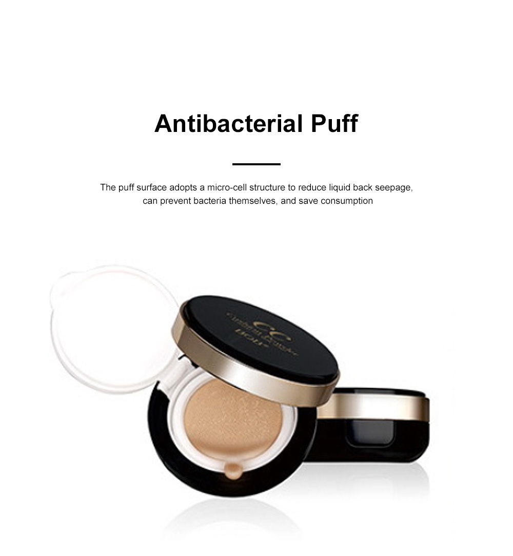 Skin Rejuvenating Air Cushion Daily Color Correcting CC Cream Send Replacement Waterproof Moisturizing Concealer Nude Makeup Cream 1